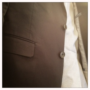 Uncommonly crafted suit jacket