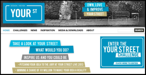 Your Street Challenge home page